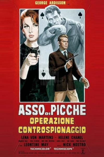 Caratula, cartel, poster o portada de As de pica: Operación contraespionaje