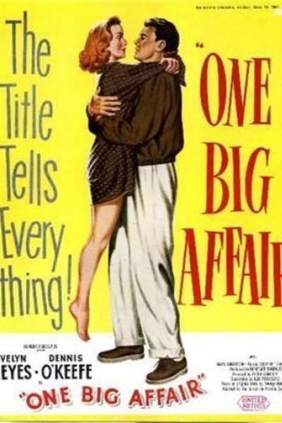 Caratula, cartel, poster o portada de One Big Affair