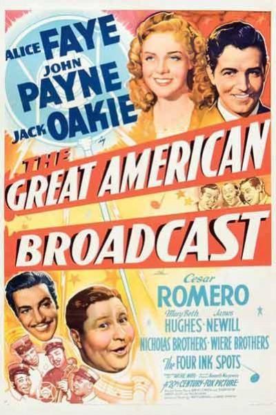 Caratula, cartel, poster o portada de The Great American Broadcast