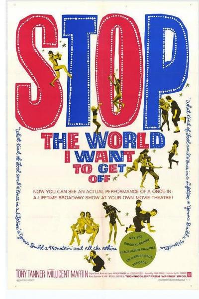 Caratula, cartel, poster o portada de Stop the World: I Want to Get Off