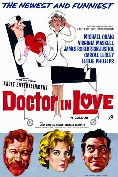 Caratula, cartel, poster o portada de Doctor in Love