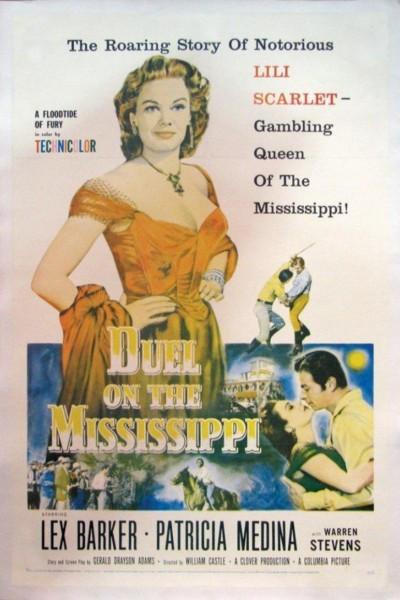 Caratula, cartel, poster o portada de Duelo en el Mississippi