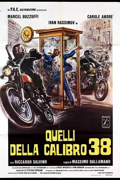 Caratula, cartel, poster o portada de Colt 38. Escuadra especial