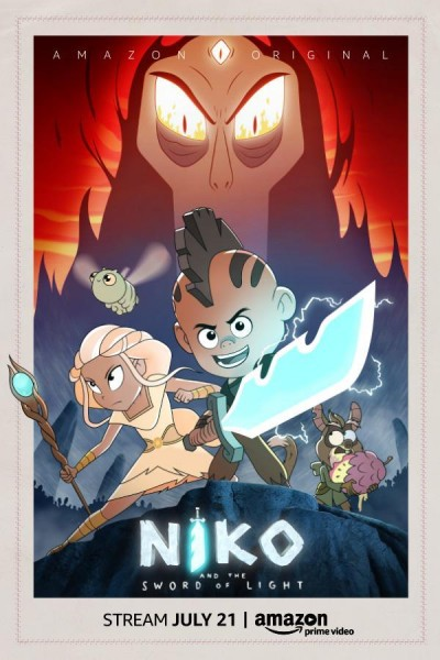 Caratula, cartel, poster o portada de Niko and the Sword of Light
