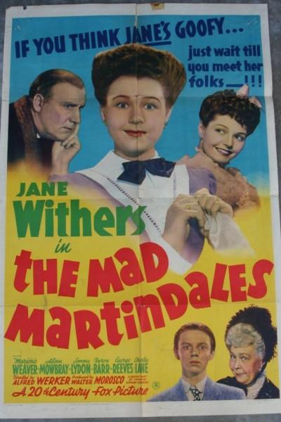 Caratula, cartel, poster o portada de The Mad Martindales