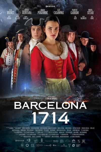 Caratula, cartel, poster o portada de Barcelona 1714