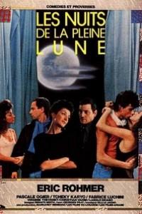 Caratula, cartel, poster o portada de Las noches de la luna llena