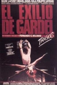 Caratula, cartel, poster o portada de El exilio de Gardel (Tangos)