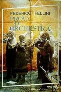 Caratula, cartel, poster o portada de Ensayo de orquesta