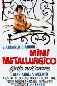 Caratula, cartel, poster o portada de Mimi, metalúrgico herido en su honor