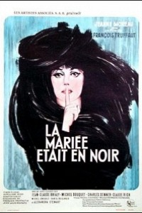 Caratula, cartel, poster o portada de La novia vestía de negro