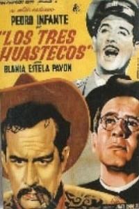 Caratula, cartel, poster o portada de Los tres huastecos