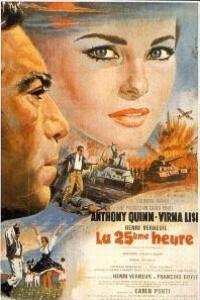 Caratula, cartel, poster o portada de La hora 25