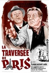 Caratula, cartel, poster o portada de Travesía de París