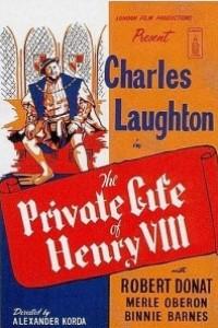 Caratula, cartel, poster o portada de La vida privada de Enrique VIII
