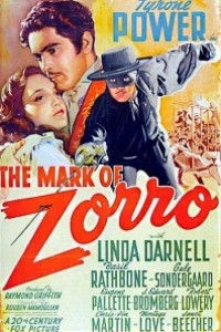 Caratula, cartel, poster o portada de El signo del Zorro