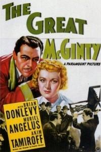 Caratula, cartel, poster o portada de El gran McGinty