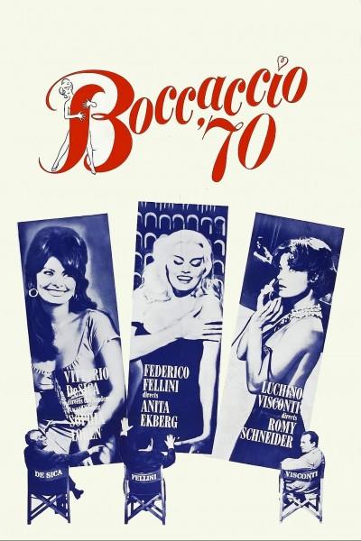 Caratula, cartel, poster o portada de Boccaccio \'70