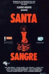 Caratula, cartel, poster o portada de Santa sangre