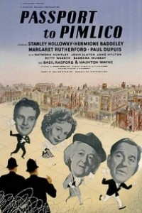 Caratula, cartel, poster o portada de Pasaporte para Pimlico