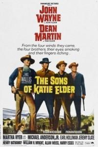 Caratula, cartel, poster o portada de Los cuatro hijos de Katie Elder