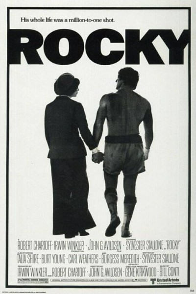 Caratula, cartel, poster o portada de Rocky