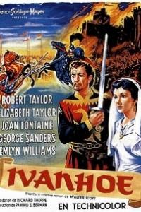 Caratula, cartel, poster o portada de Ivanhoe