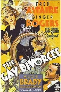 Caratula, cartel, poster o portada de La alegre divorciada