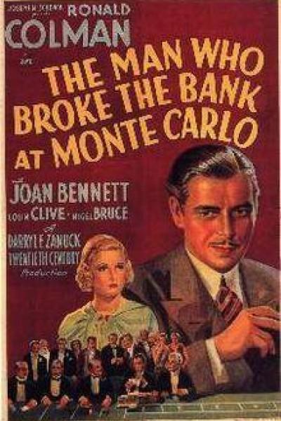 Caratula, cartel, poster o portada de El hombre que saltó la banca en Montecarlo
