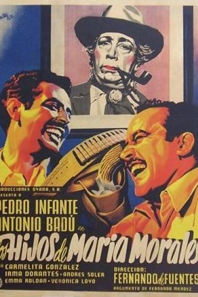 Caratula, cartel, poster o portada de Los hijos de María Morales