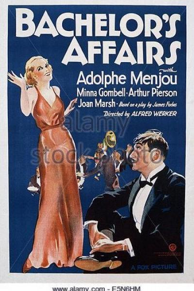 Caratula, cartel, poster o portada de Bachelor\'s Affairs