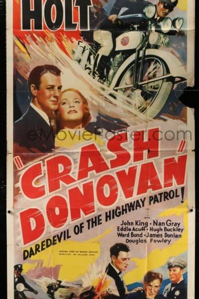 Caratula, cartel, poster o portada de Crash Donovan