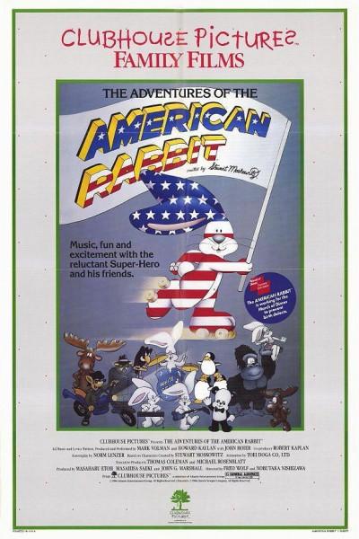 Caratula, cartel, poster o portada de Las aventuras del conejo americano