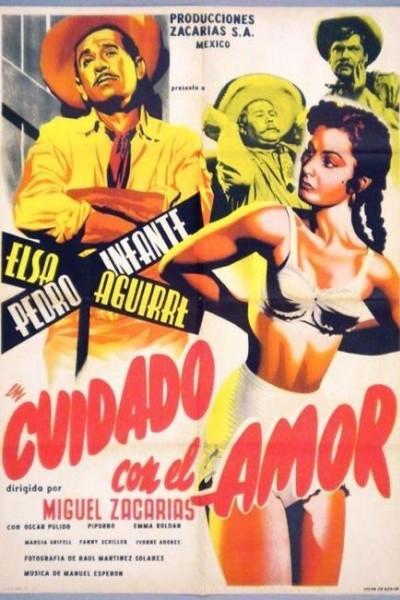 Caratula, cartel, poster o portada de Cuidado con el amor