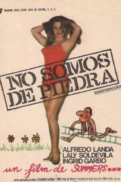 Caratula, cartel, poster o portada de No somos de piedra