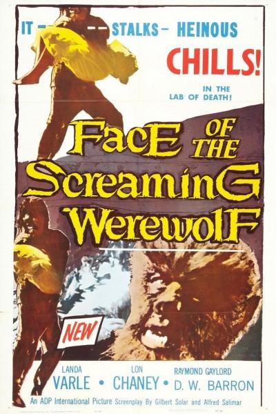 Caratula, cartel, poster o portada de Face of the Screaming Werewolf