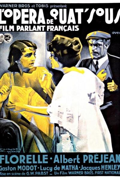 Caratula, cartel, poster o portada de La comedia de la vida (L\'opéra de quat\'sous)