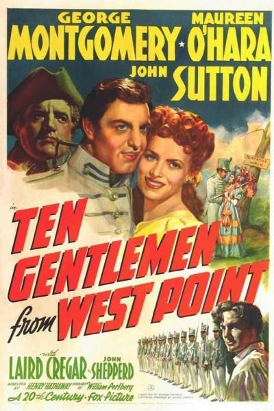 Caratula, cartel, poster o portada de Diez héroes de West Point