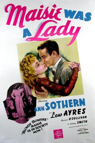 Caratula, cartel, poster o portada de Maisie Was a Lady