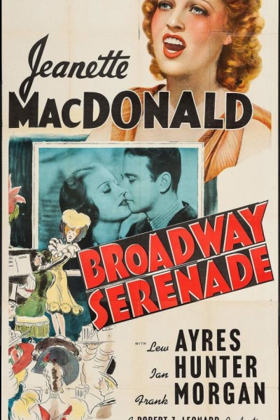Caratula, cartel, poster o portada de Se llevó mi corazón (La serenata de Broadway)