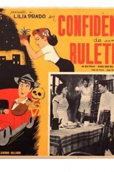 Caratula, cartel, poster o portada de Confidencias de un ruletero