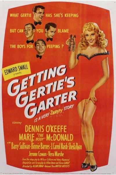 Caratula, cartel, poster o portada de Getting Gertie\'s Garter