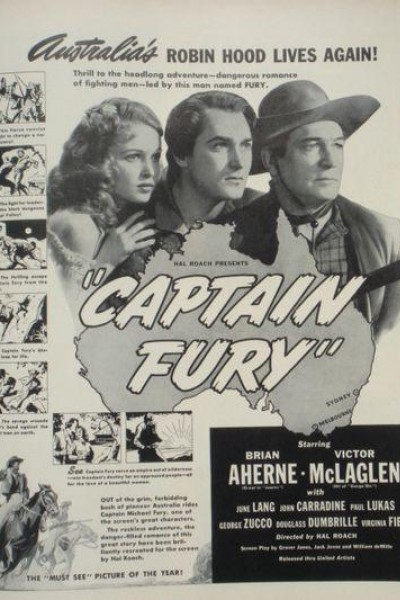 Caratula, cartel, poster o portada de Capitán Furia