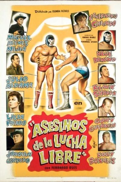 Caratula, cartel, poster o portada de Asesinos de la lucha libre
