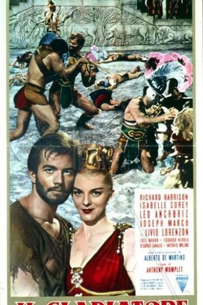 Caratula, cartel, poster o portada de El gladiador invencible
