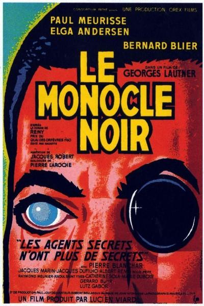 Caratula, cartel, poster o portada de El monóculo negro