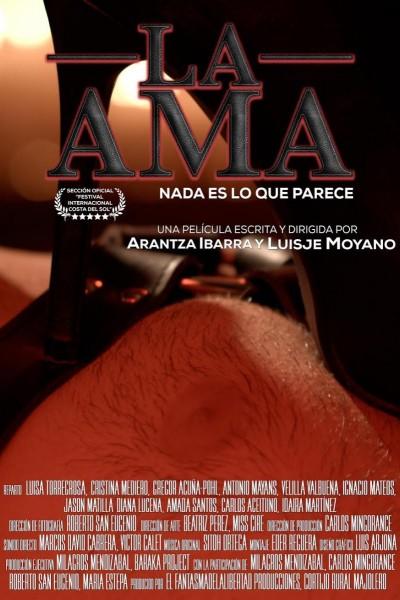 Caratula, cartel, poster o portada de La Ama