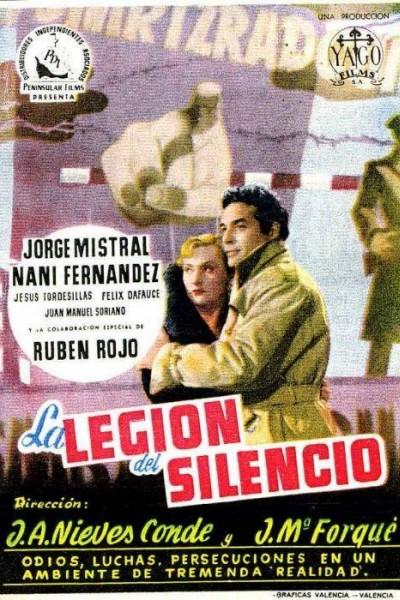 Caratula, cartel, poster o portada de La legión del silencio