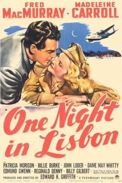Caratula, cartel, poster o portada de One Night in Lisbon