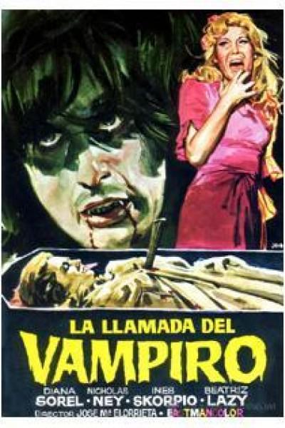 Caratula, cartel, poster o portada de La llamada del vampiro